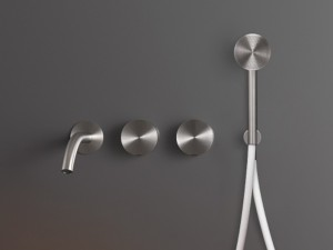 Cea Giotto Plus 4 holes wall hot tub tap with handshower GIO94