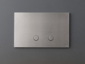 Cea Hydroplate flush plate with two relief buttons PLA01