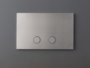 Cea Hydroplate flush plate with two flush buttons PLA02