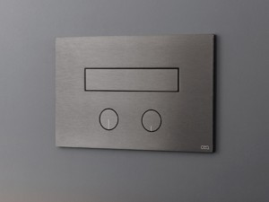 Cea Hydroplate flush plate with two buttons and hidden toilet jet PLA05