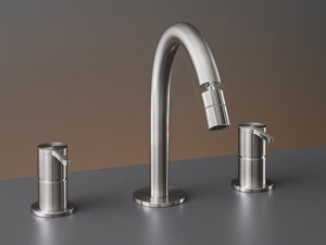 Cea Innovo 3 holes bidet tap with adjustable spout INV44