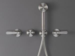 Cea Lutezia thermostatic shower or hot tub mixer with handshower