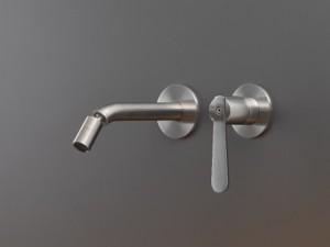 Cea Lutezia Plus wall 2 holes bidet or sink tap with adjustable spout LTZ25