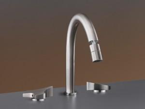 Cea Ziqq 3 holes bidet tap with adjustable spout ZIQ73