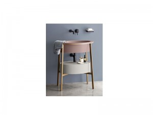 Cielo Catino Ovale vanity with sink