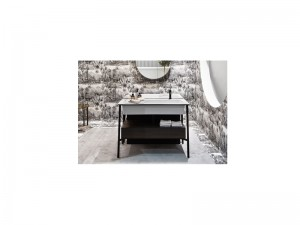 Cielo Catino Rettangolare vanity with sink