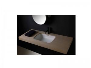 Cielo Enjoy rectangular undertop sink EJLASPR