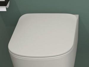 Cielo Era toilet seat in thermosetting