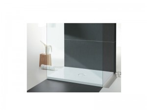 Cielo Venticinque reversible rectangular shower tray PDR180100