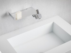Dueacca Kit 01 Indoor wall single lever sink tap 4120018101