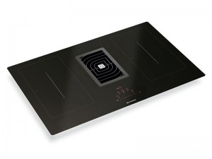 Faber Galileo Smart induction hob with kitchen hood integrated