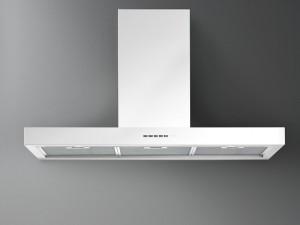 Falmec Design wall or island kitchen hood PLANE WHITE