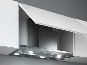Falmec Design drop in kitchen hood VIRGOLA