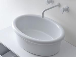 Falper Cocò countertop sink DWH