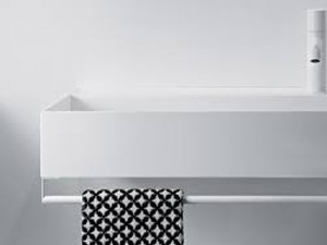 Falper Quattro.Zero towell holder for wall sink