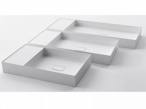 Falper Quattro.Zero countertop or wall sink