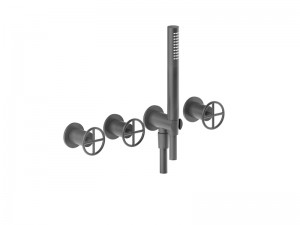 Fantini Fontane Bianche hot tub tap with handshower P017B