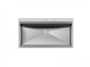Foster Milano kitchen sink in stainless steel flat to the top 1017 050