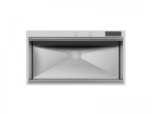 Foster Milano kitchen sink in stainless steel flat to the top 1017 055