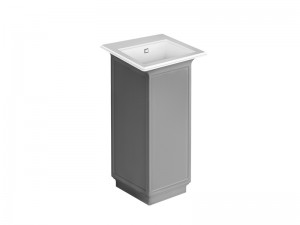 Gessi Eleganza lacquared freestanding sink 46824