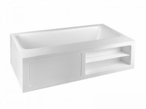 Gessi Rettangolo freestanding hot tub 37596