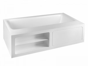 Gessi Rettangolo freestanding hot tub 37597