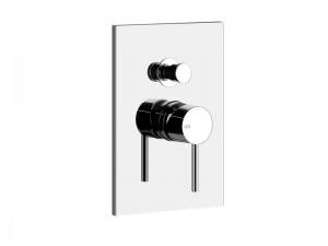 Gessi Via Tortona shower tap with diverter 44664.031