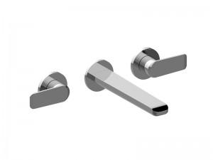 Graff Java 3 holes wall sink tap E11130LM54B