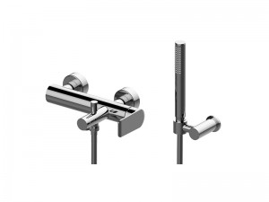 Graff Java single lever hot tub tap with handshower EX11176LM54XPC