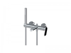 Graff Phase wall hot tub tap with handshower EX6676LM45W