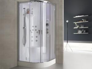 Hafro Nex Bi-Size Integra angular multifunction shower enclosure 1NBA2N2