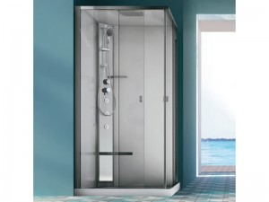 Hafro Sound Integra angular multifunction shower enclosure 1SDC5S2