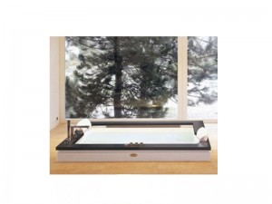 Jacuzzi Aura Plus Stone drop in hydromassaging hot tub 9H43507