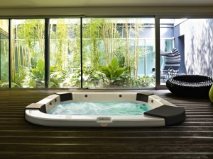Jacuzzi Delos Pro Sound indoor and outdoor drop in hydromassage spa 9444-81952