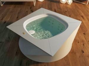 Jacuzzi Flow indoor freestanding hydromassage spa 9445-01952