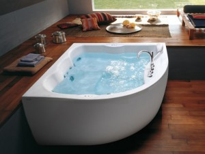 Jacuzzi Maxima dop in hydromassaging hot tub 9443788A