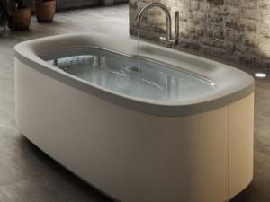 Jacuzzi Muse freestanding hydromassaging hot tub 9F43793ASX