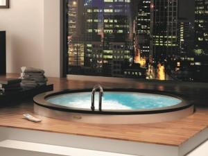 Jacuzzi Nova drop in hydromassaging hot tub NOV20010700