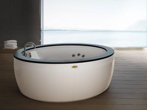 Jacuzzi Nova Stone freestanding hydromassaging hot tub NOV20010718