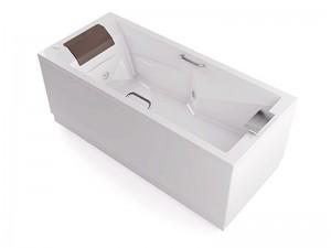 Jacuzzi Slim+Pro wall hydromassaging hot tub THE30141513SX