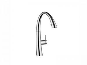KWC Zoe single lever kitchen tap with led