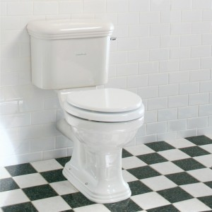 Lefroy Brooks Belle Aire floor toilet with cistern LB7807