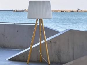 Myyour Agata Wood floor lamp 61002EXTAGAT