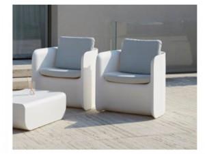 Myyour Nova S upholstered armchair with led RGB 21508NOVA