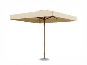 Ombrellificio Veneto Dolomiti Legno parasol 300x300cm DOLOMITI