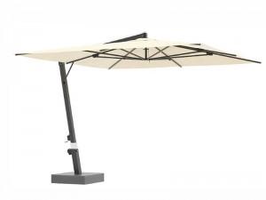 Ombrellificio Veneto Eclisse lateral arm parasol 450x450cm ECLISSE
