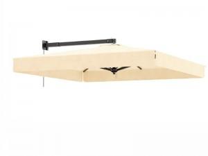 Ombrellificio Veneto Murales wall parasol 250x250cm MURALES