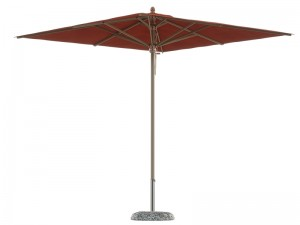Ombrellificio Veneto Petrarca Legno parasol 300x300cm PETRARCA
