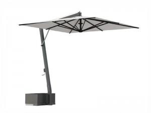 Ombrellificio Veneto Saturno lateral arm parasol 400x400cm SATURNO