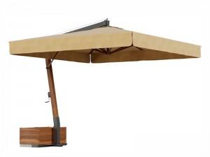 Ombrellificio Veneto Vespucci lateral arm parasol 400x400cm VESPUCCI